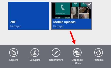 Windows 8.1, OneDrive, smart files, fisiere, foldere
