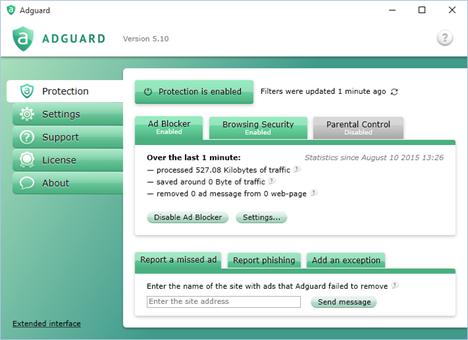 Windows 10, Microsoft, Edge, reclame, blocare, dezactivare, stop, adblock, Adguard