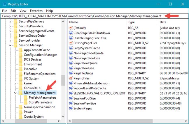 Windows, regedit, bara, adresa, Registry Editor
