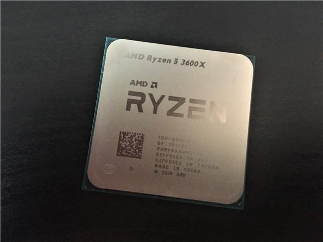 Procesorul AMD Ryzen 5 3600X