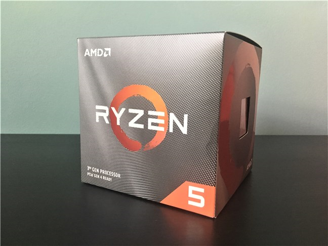Cutia lui AMD Ryzen 5 3600X