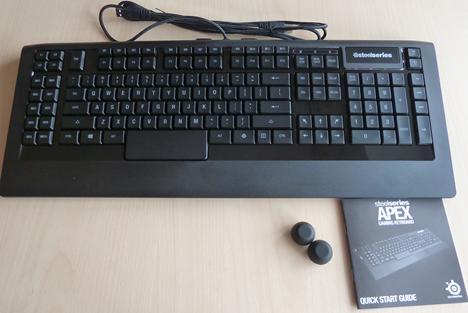 SteelSeries, Apex, tastatură, recenzie, gaming