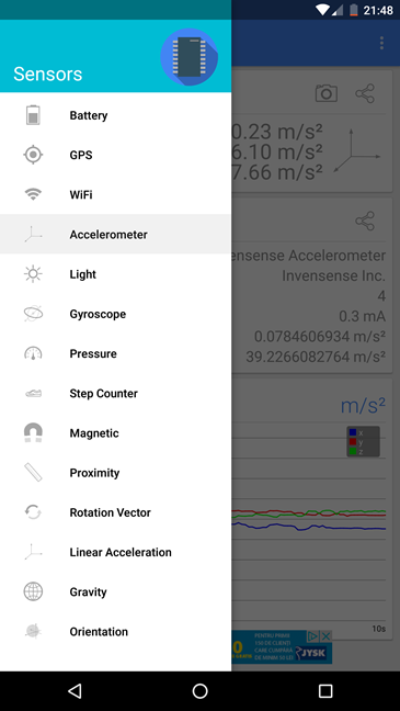 Android, diagnoza, telefon, tableta, aplicatii