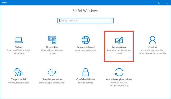 Windows 10, Meniul Start, aplicatii, instalate, recent