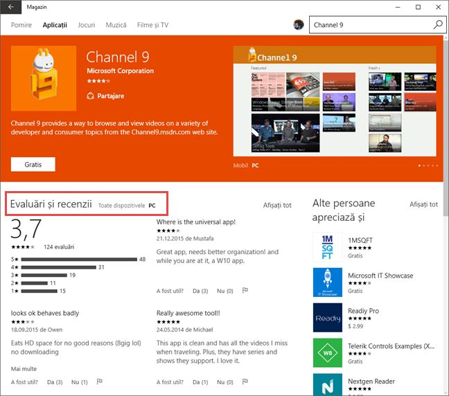 aplicatii, Windows 10, universale, UWP, Universal Windows Platform