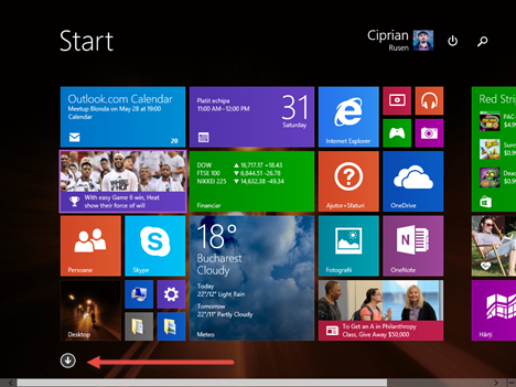 Windows 8.1, Aplicatii, vizualizare, categorie, nume, data instalarii, utilizare, programe