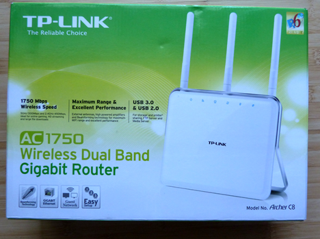 TP-LINK, AC1750, Wireless, Dual Band ,Gigabit, Router, Archer C8, review, recenzie