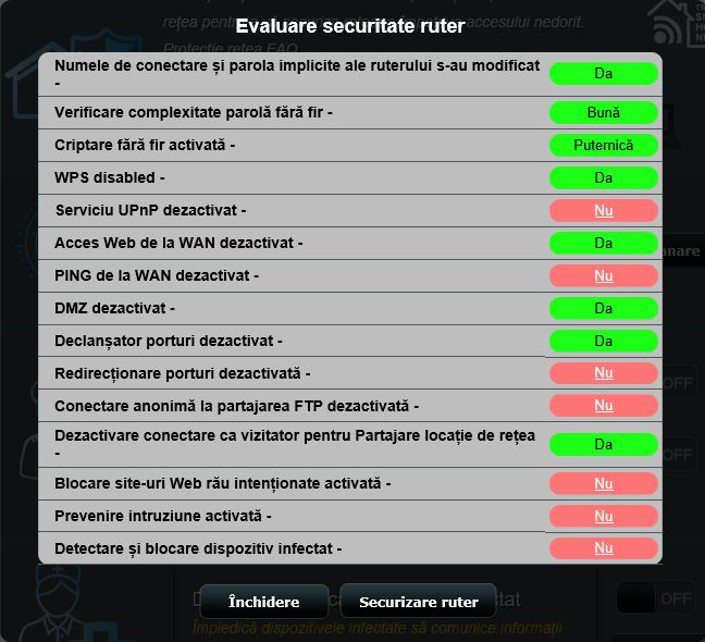 ASUS AiProtection, wireless, router, Trend Micro, evaluare, securitate, retea