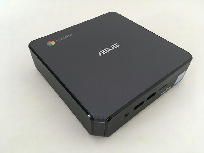 Partea superioară a lui ASUS Chromebox 3
