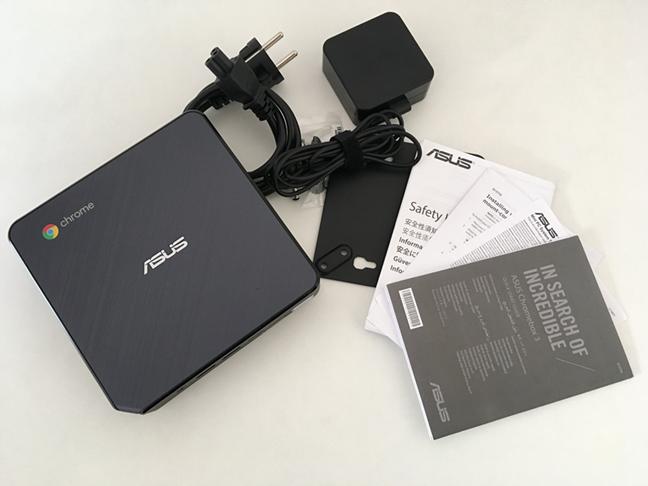 Ce găsești în pachetul ASUS Chromebox 3