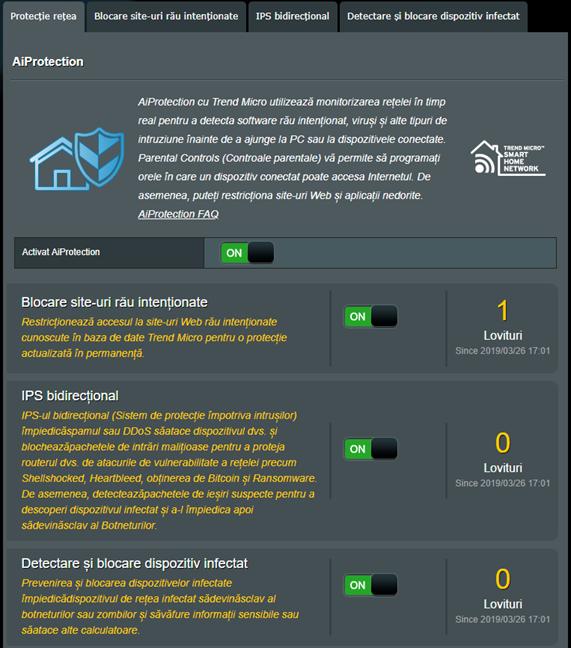 Firmware-ul ASUS - Pornește detectarea și blocarea dispozitivelor infectate
