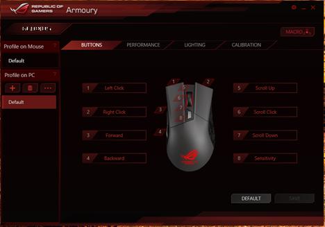 ASUS, Gladius, Republic of Gamers, mouse, maus, gaming