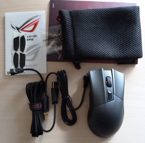 ASUS, Gladius, Republic of Gamers, mouse, maus, gaming