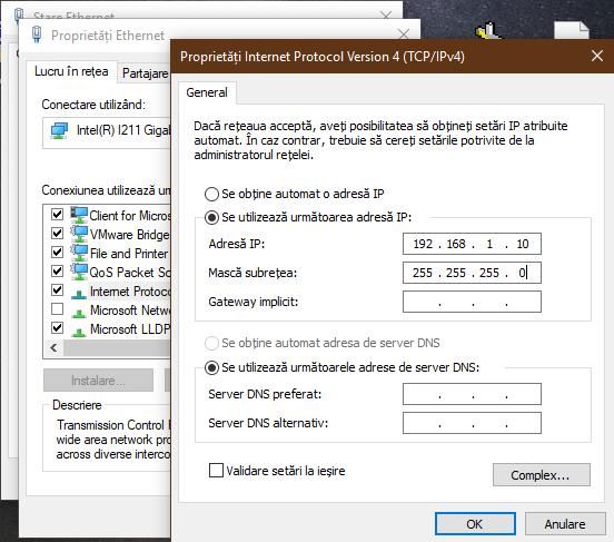 Adresa IP a calculatorului tău