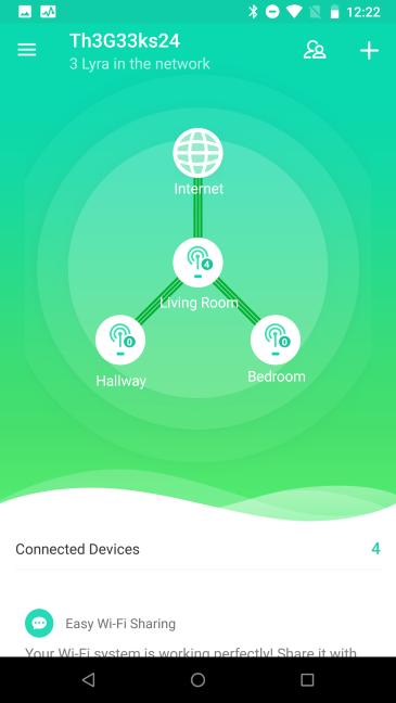 Aplicația mobilă ASUS Lyra