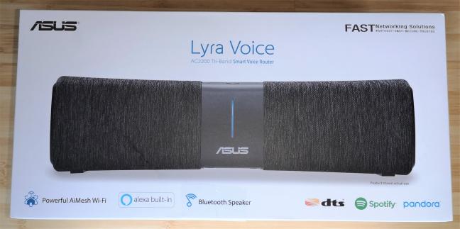 Cutia în care vine ASUS Lyra Voice