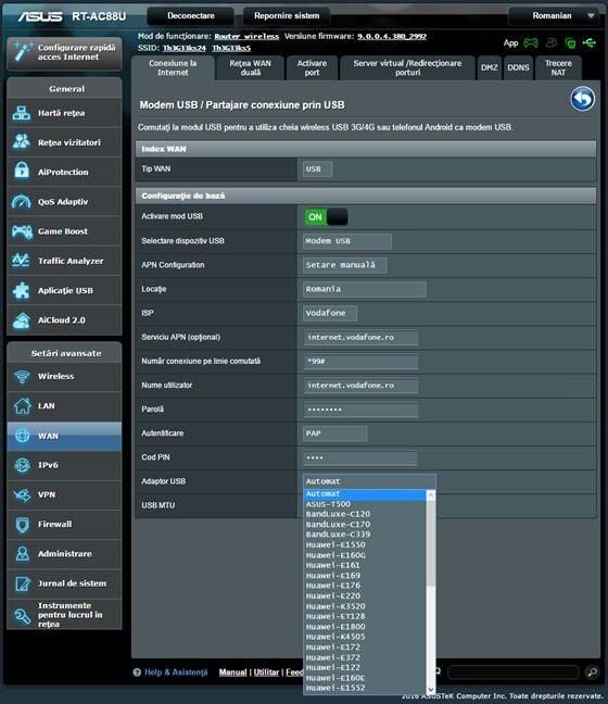 router, wireless, ASUS, modem, USB, stick, internet, dual wan