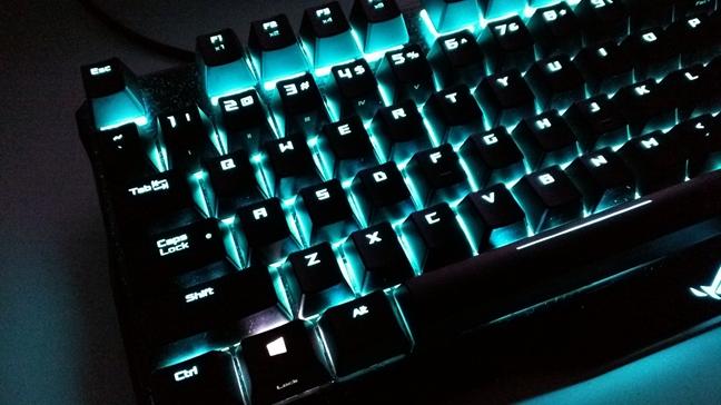 ASUS ROG Claymore, tastatura