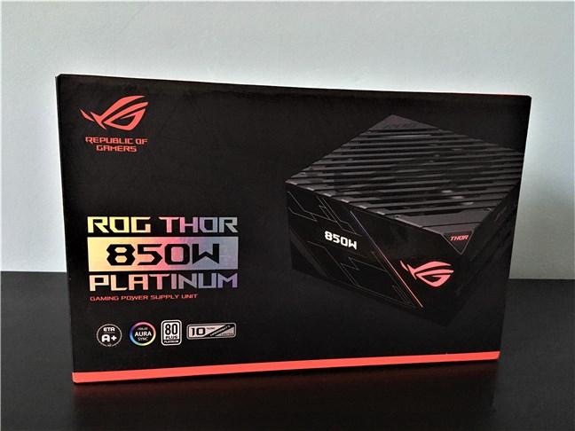 Cutia sursei ASUS ROG Thor 850W Platinum
