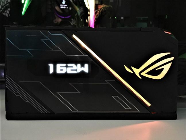 ASUS ROG Thor 850W Platinum: ecranul OLED și luminile RGB