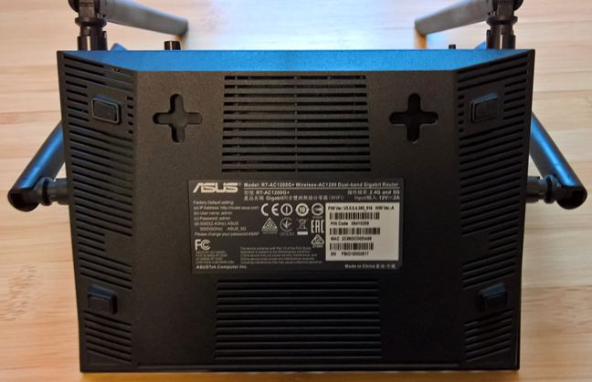 ASUS RT-AC1200G , dual-band, wireless, AC1200, router, review, performante, retea
