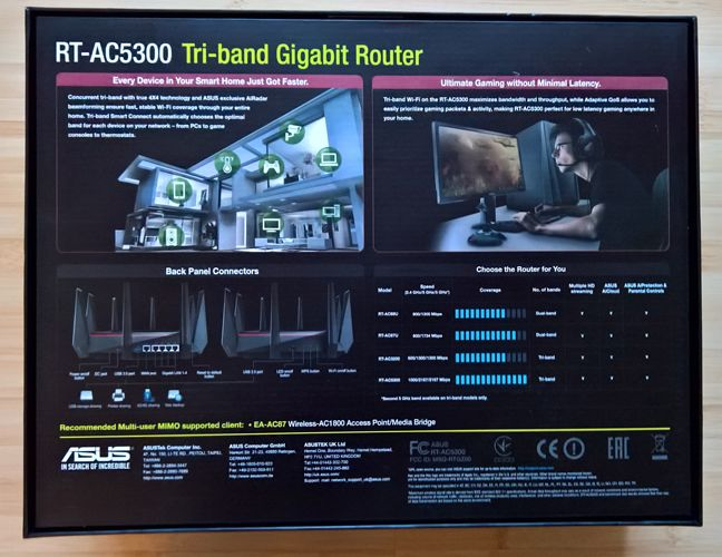 ASUS RT-AC5300, tri-band, wireless, gigabit, router, review