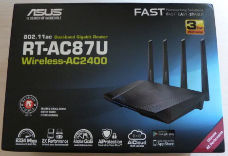 ASUS, RT-AC87U, wireless, router, review, performante, teste