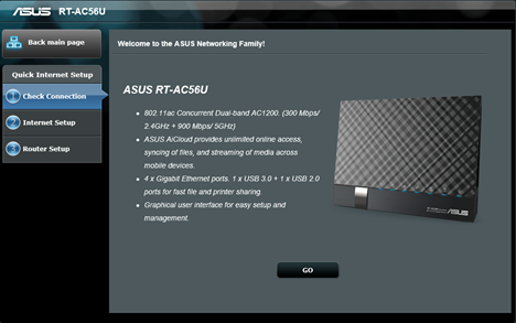 ASUS RT-AC56U, wireless, ac1200, router, 2.4GHz, recenzie, performante, teste