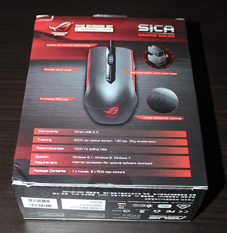 ASUS, Sica, Republic of Gamers, mouse, recenzie, review, gaming, jocuri