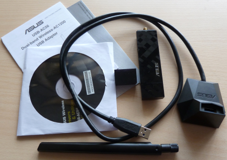 ASUS USB-AC56, 802.11ac, Dual-band, Wireless-AC1200, USB, review, recenzie, retele, wireless