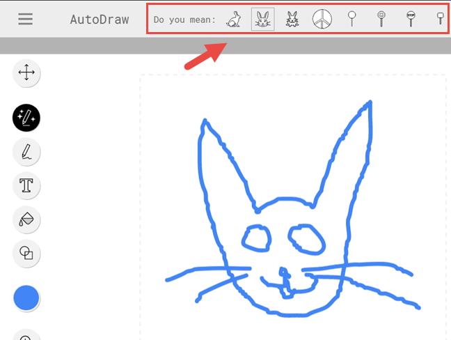 AutoDraw, desene, rapide