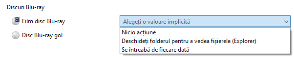 Windows, Redare automata, AutoPlay