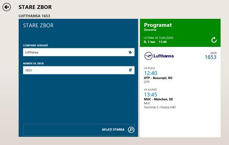 Windows 8.1, Calatorii, aplicatie, Bing, zboruri, hoteluri, destinatii turistice