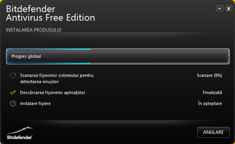 Bitdefender, Antivirus, Free Edition, recenzie, review, gratuit