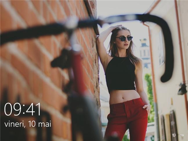 Ecranul de blocare din Windows 10