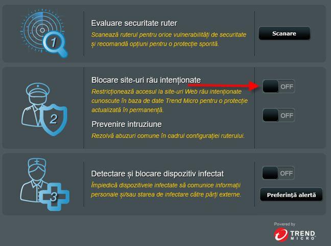ASUS, AiProtection, blocheaza, malware, saituri, malitioase, Trend Micro