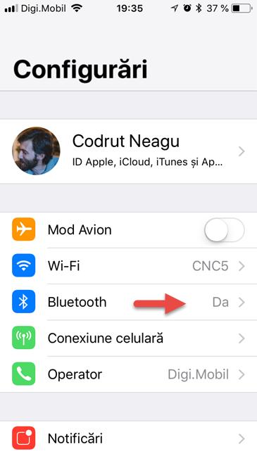 Bluetooth, iPhone, iPad