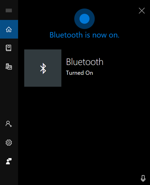 Cortana îți oferă feedback