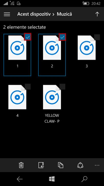Windows 10 Mobile, Bluetooth, transfer, trimite, fisiere, poze