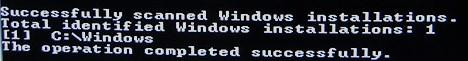 Windows, Linia de Comanda, bootrec