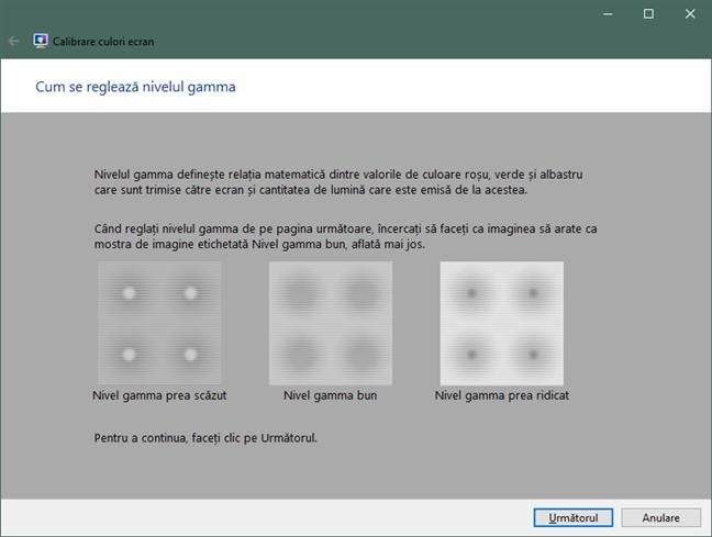 Cum se reglează nivelul gamma în Windows 10
