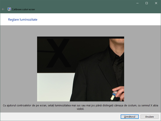 Reglare luminozitate pentru monitor în Windows 10