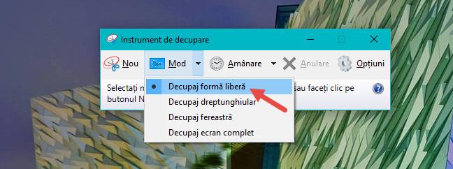 instrument, decupare, capturi, ecran, screenshot, imagine, copiaza, Windows