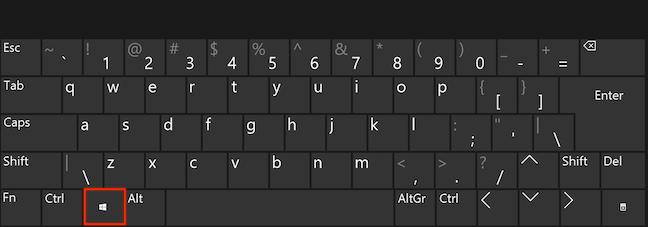 Apasă Windows pe tastatură și începe să scrii