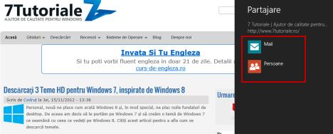 charm, butoane speciale, windows 8, windows 8.1