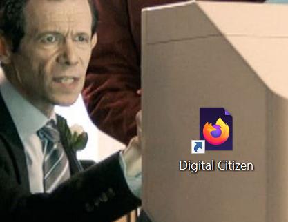 Pictograma scurtăturii tale se potrivește cu cea a browser-ului tău