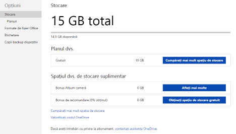 OneDrive, website, configure, storage, format, tag, photo