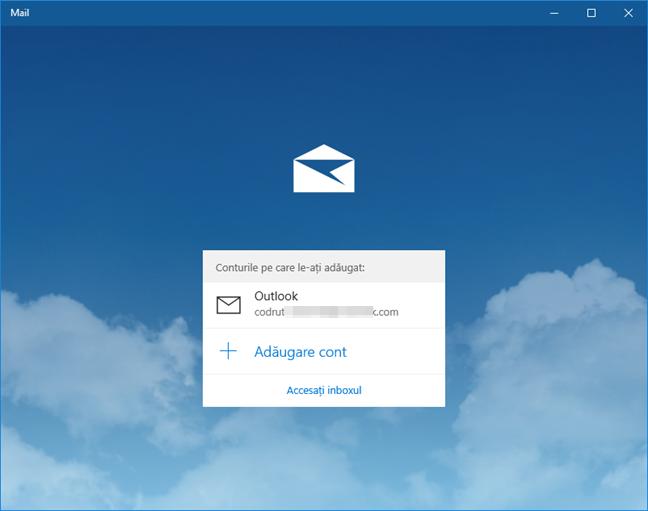 cont, utilizator, Windows 10