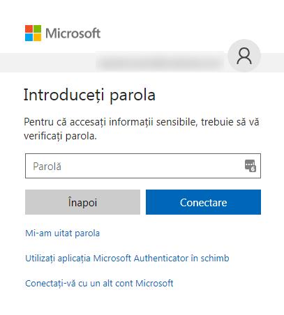 cont, Microsoft, activitatea recenta
