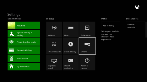 Xbox One, firmware, update, controller, headset, casti, controler
